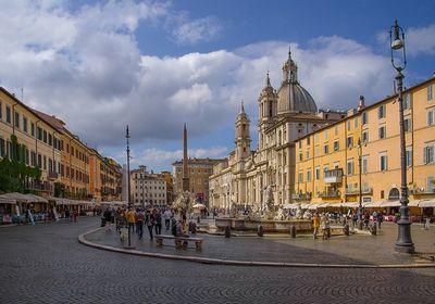 Le piazze della capitale